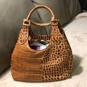 Donald J Pliner leather bag